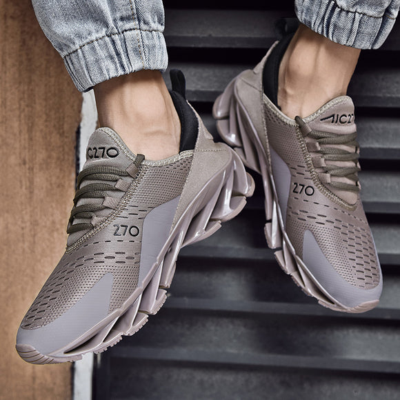 Hizada Men's Fashion Stylish Breathable Light Blade Running Casual Shoes