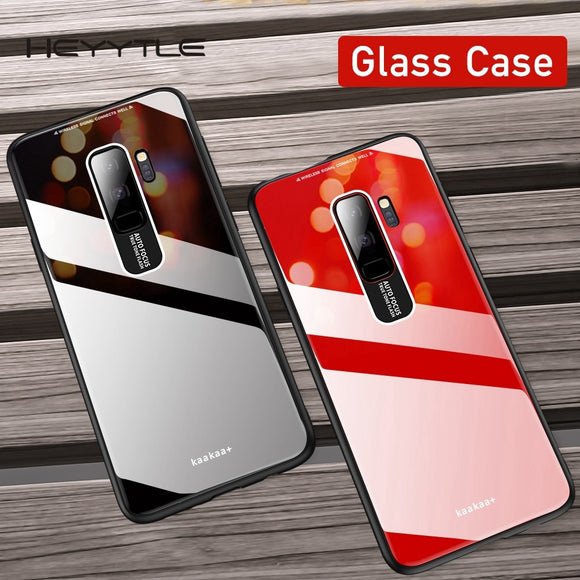 Phone Case - Glass Mirror Case For Samsung S10 S10Plus S10E Note 9/8 S9 S8/Plus