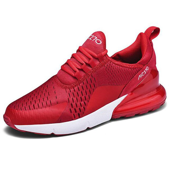 Hizada Men's Air Cushion Mesh Breathable Wear-resistant Sneakers
