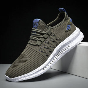 Hizada 2020 New Men's Casual Lightweight Mesh Breathable Walking Sneakers