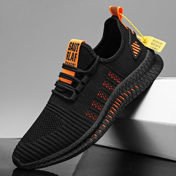 Hizada New Summer Outdoor Lightweight Mesh Breathable Men's Sneakers