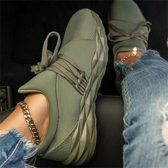 Women's Casual Daily Flat Heel Sneakers