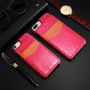 Hizada 2020 New Arrival Brown PU Leather Phone Case For iPhone 11/Pro/Max X XR XS MAX 8 7 6S 6/Plus