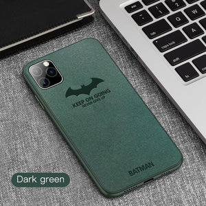 New Luxury Ultra Thin Upgrade Suede Leather Case For iPhone 11/Pro/Max X XR XS MAX 8 7 6S 6/Plus