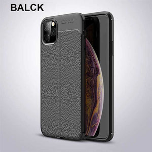 New Luxury PU Silicone Soft Case For iPhone 11 X XR XS MAX 8 7 6S 6/Plus