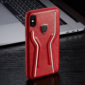 Luxury Shockproof Leather Case For iPhone X XR XS MAX 8 7 6S 6/Plus