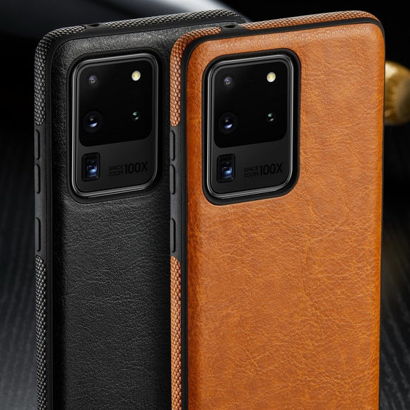 Luxury PU Leather Phone Case For Samsung