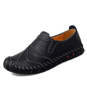 Hizada Men's Plus Size Leisure Casual Soft Flat Shoes