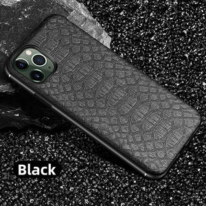 Luxury Magnetic Crocodile Texture leather Phone Case For iPhone
