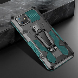 Shockproof Military Armor Magnetic Kickstand Phone Cases For iPhone 12 11/Pro/Max X XR XS MAX 8 7 6S 6/Plus