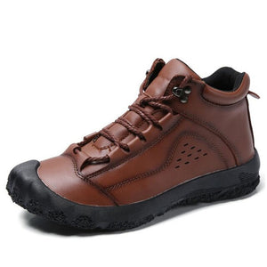 High Quality Leather Men's Outdoor Walking Shoes