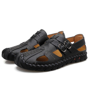 Fashion Men's Leisure High Quality Genuine Leather Sandals