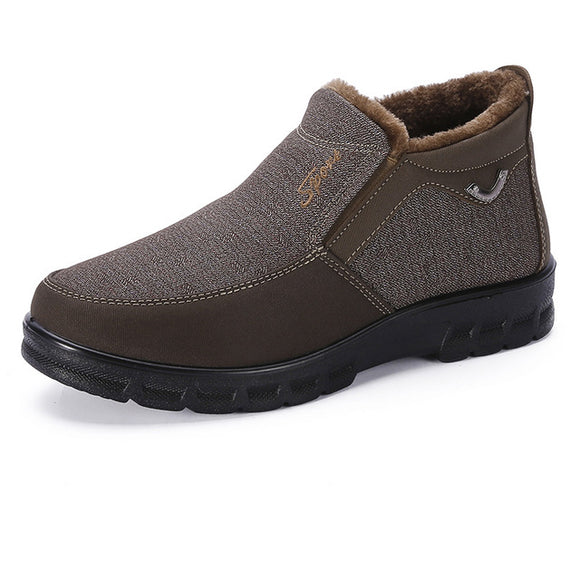 New Fashion Autumn Winter Men's Classic Warm Ankle Booties