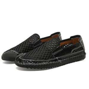 Fashion Men's Mesh Lightweight Soft Slip On Casual Shoes