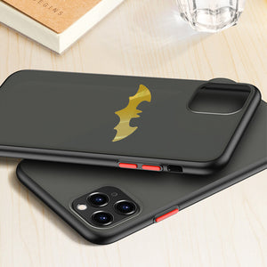 Luxury Matte Bumper Shockproof Batman Silicone Case For iPhone 11/Pro/MAX X XR XS Max 8 7/