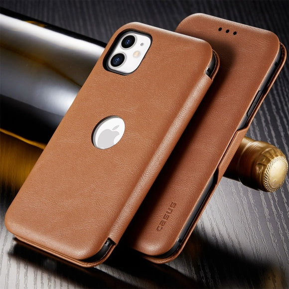 New Magnetic Card Slot Wallet Flip Leather Case For iPhone 11/Pro/Max X XR XS MAX 8 7 6S 6/Plus