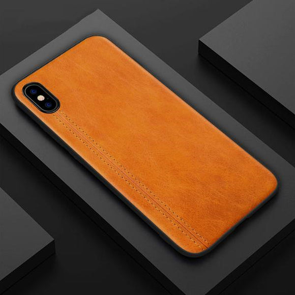 Retro PU Leather Case For iPhone X XR XS MAX 8 7 6S 6/Plus