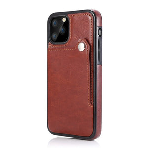 Luxury PU Leather Card Slot Case For iPhone 11/Pro/Max X XR XS MAX 8 7 6S 6/Plus SE2020