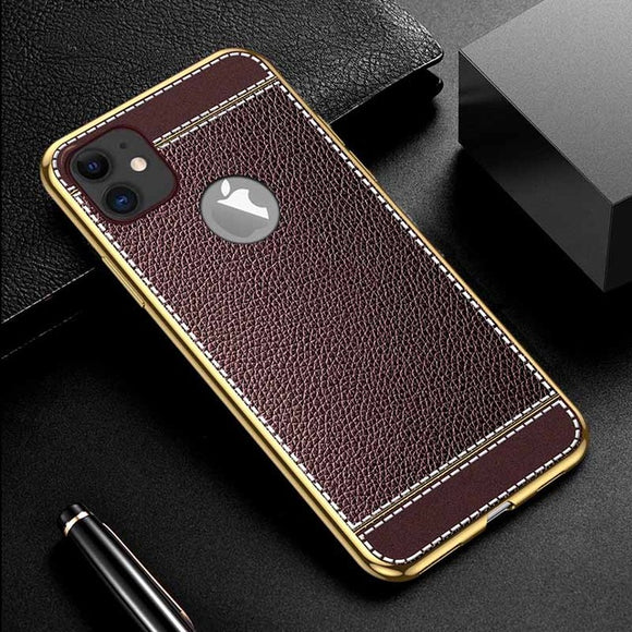 Hizada Luxury Ultra Thin Plating Soft Cover Case For iPhone 11/Pro/Max X XR XS MAX 8 7 6S 6/Plus