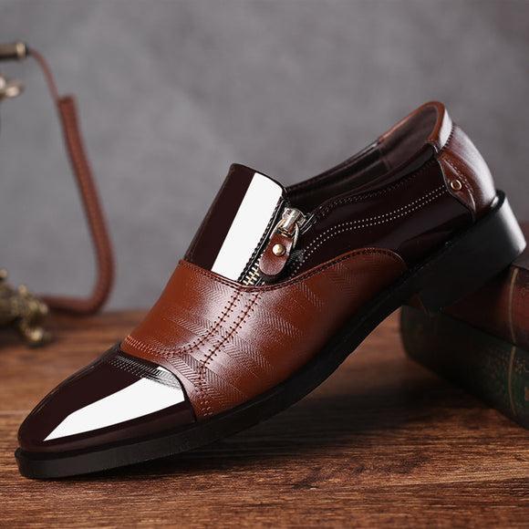 2019 New Fashion Classic Men's Leather Casual Shoes