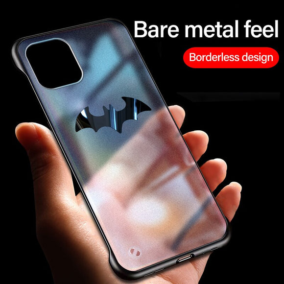 Ultra Thin Magnetic Matte PC Frameless Case For iPhone 11/Pro/Max X XR XS MAX 8 7 6S 6/Plus