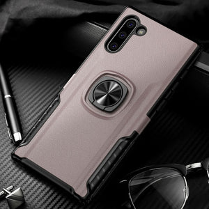 Luxury Shockproof Soft TPU Magnetic Ring Holder Case For Samsung Note 10/9 S10/Plus/E S9 S8/Plus