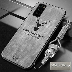 Hizada Luxury Shockproor Armor Fabric Cloth Case For Samsung S20/Ultra/Plus Note 10/Plus Note 9 8 S9 S8/Plus