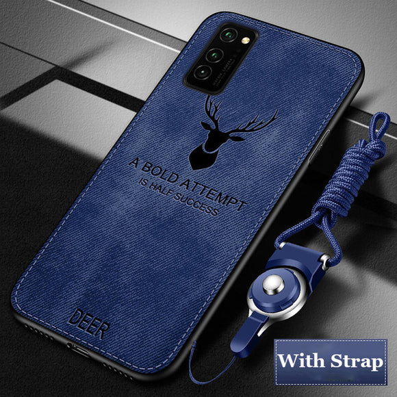 Hizada 2020 Shockproor Armor Fabric Cloth Case For Samsung S20/Ultra/Plus Note 10/Plus Note 9 8 S9 S8/Plus