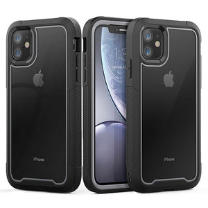 Luxury Shock Absorption Bumper Hybrid Clear Cover For iPhone 11/Pro/Max 8 7 6S 6/Plus