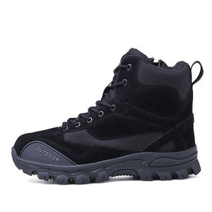 2019 New Men's Tactical Military Combat Boots