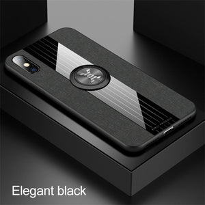 Luxury Ultra Thin Magnetic Ring Holder Case For iPhone X XR XS MAX 8 7 6S 6/Plus