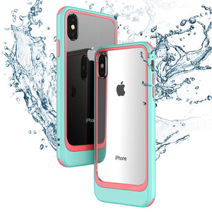 Hizada Fashion Shockproof PC + TPU Protection Case For iPhone 11/Pro/Max X XR XS Max 8 7/Plus