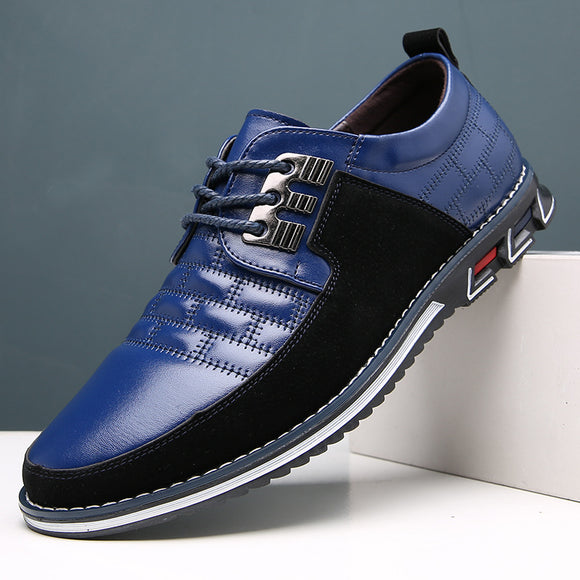 Fashion Men's Soft Comfortable Oxfords Leather Casual Shoes(Buy 2 Get 10% OFF, 3 Get 15% OFF)