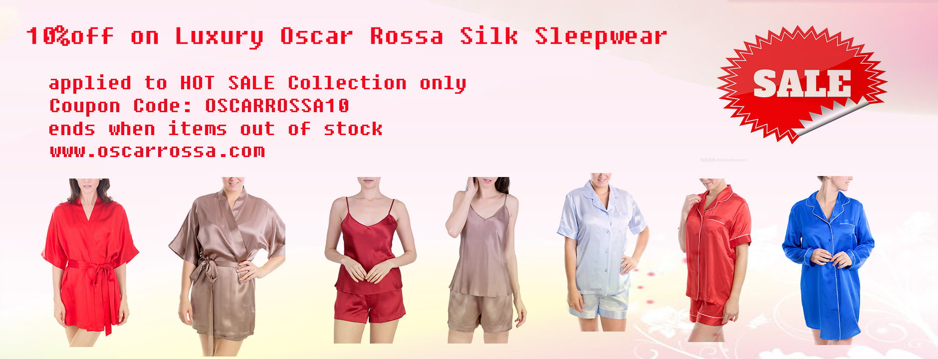 Oscar Rossa Coupon Code and Promotion