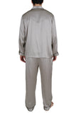 Oscar Rossa 100% Silk Sleepwear Men's Silk Pajamas Set -OSCAR ROSSA