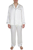 Men's Luxury Silk Sleepwear 100% Silk Pajamas Set
