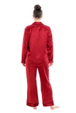 Women's Luxury Silk Sleepwear 100% Silk Pajamas Set - Oscar Rossa