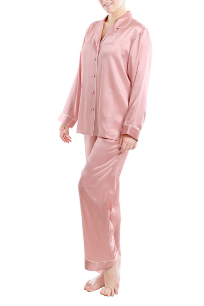 Women's Luxury Silk Sleepwear 100% Silk Pajamas Set