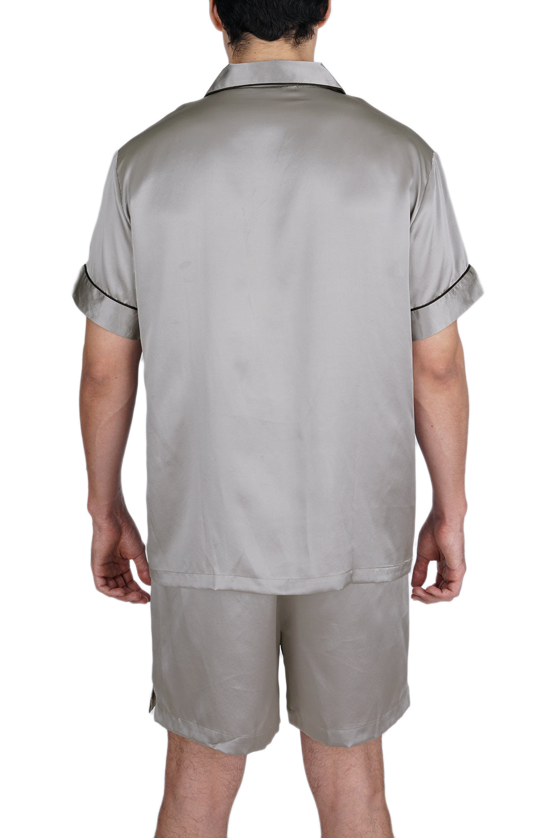 Men's 100% Silk Short Pajamas Set -OSCAR ROSSA
