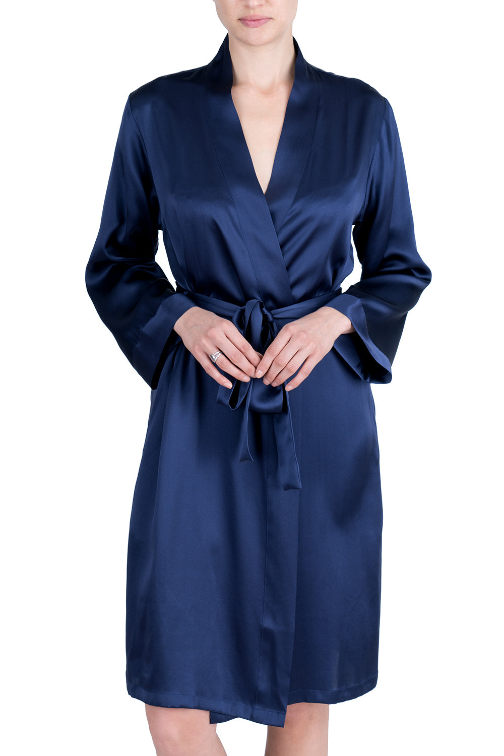 Women's Silk Sleepwear 100% Silk Robe