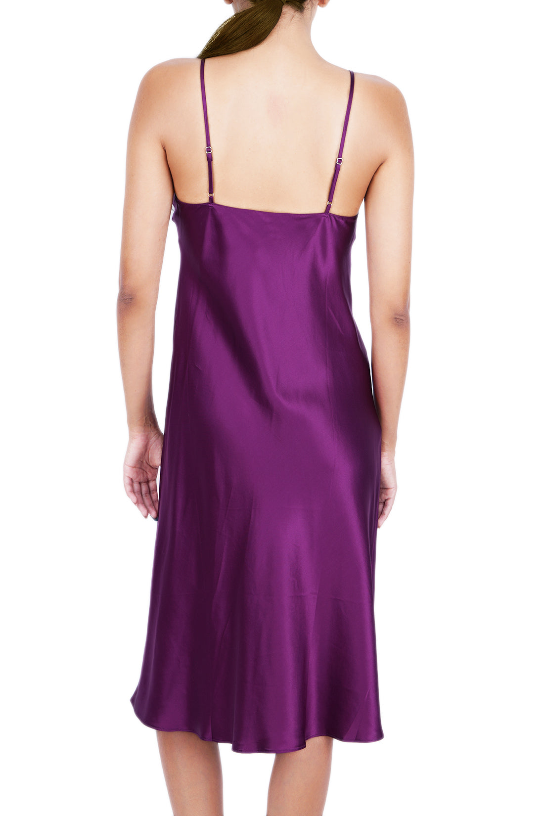 Women's Silk Sleepwear 100% Silk Full Slip -OSCAR ROSSA