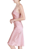 Women's Luxury Silk Sleepwear 100% Silk Full Slip Chemise Lingerie Nightgown - Oscar Rossa
