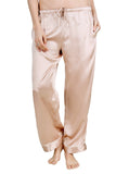 Women's Luxury Silk Sleepwear 100%Silk Pajamas Pants - Oscar Rossa