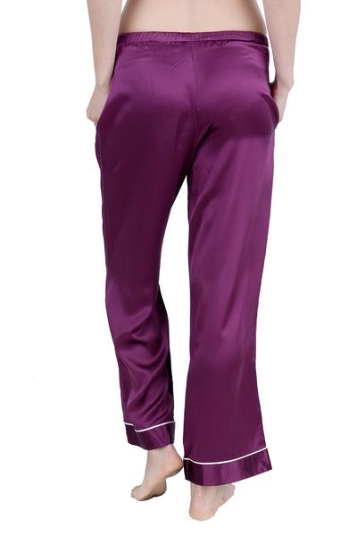 Women's Luxury Silk Sleepwear 100%Silk Pajamas Pants