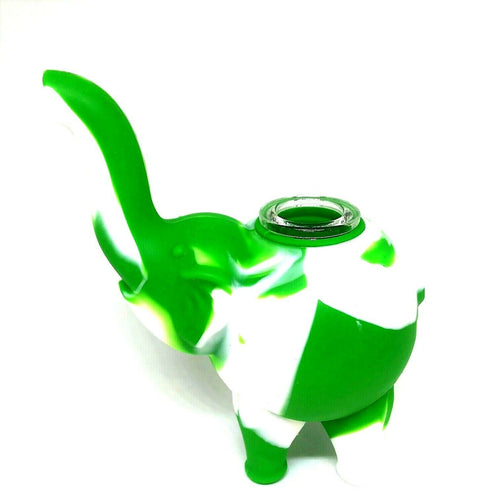 Elephant Themed Silicone Pipe