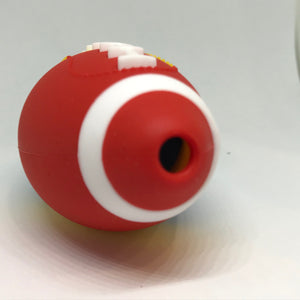Football Themed Silicone Hand Pipe