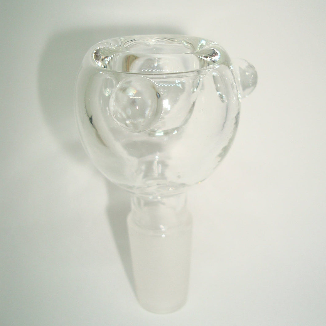 Clear Glass Bowl Piece 14mm