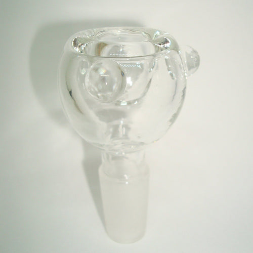 Clear Glass Bowl Piece 18mm