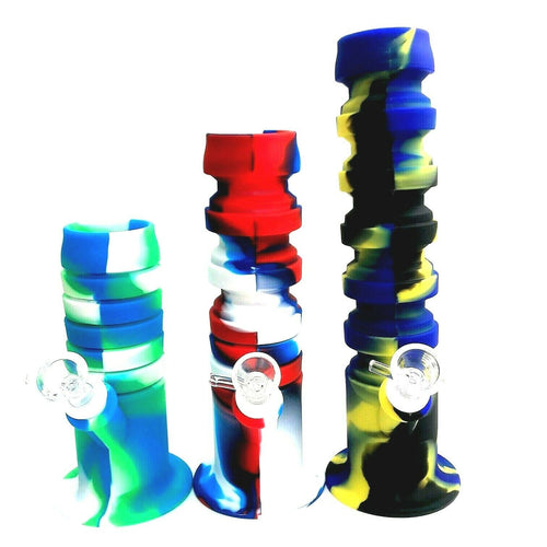 Expandable Silicone Bong Water Pipe