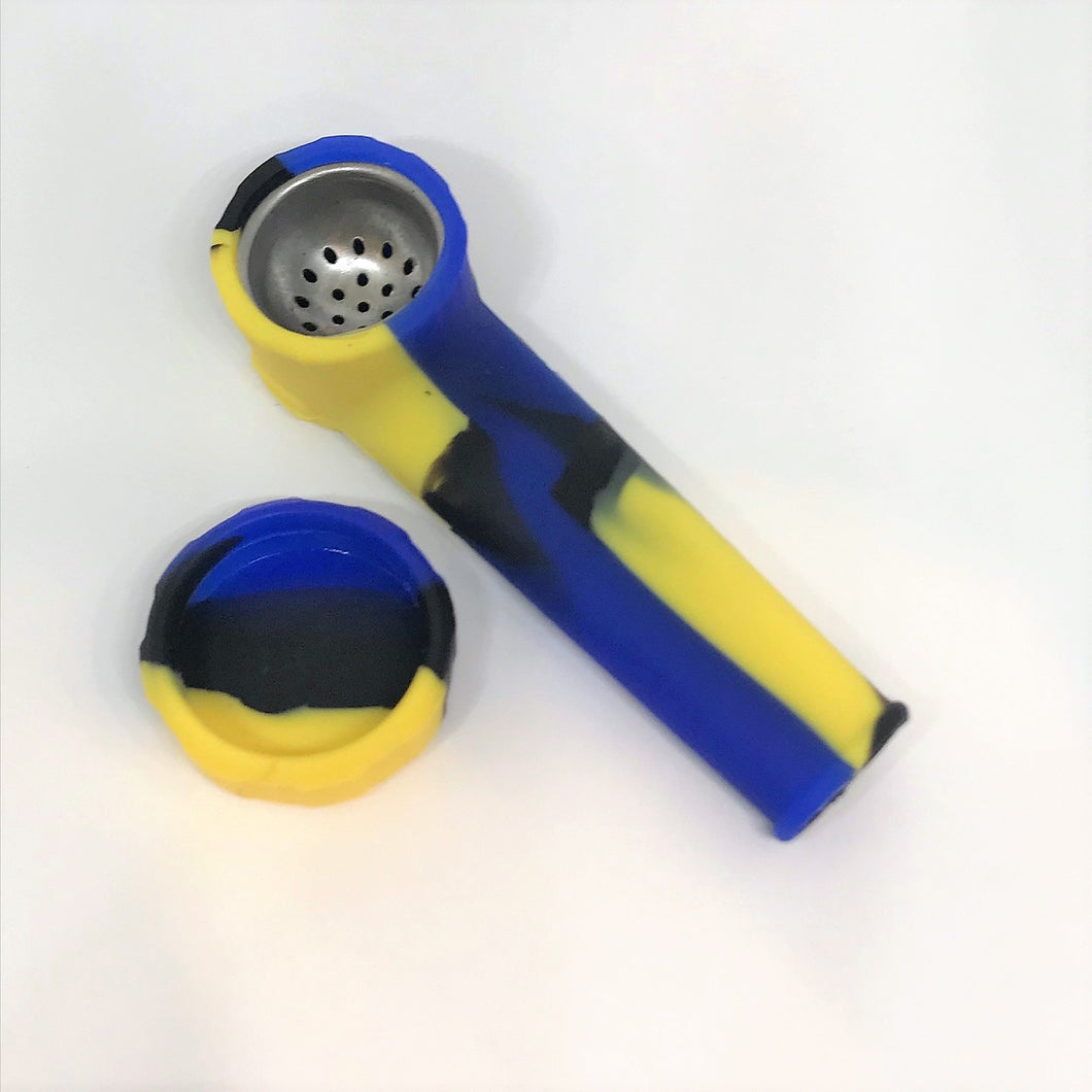 Silicone Hand Smoking Pipe